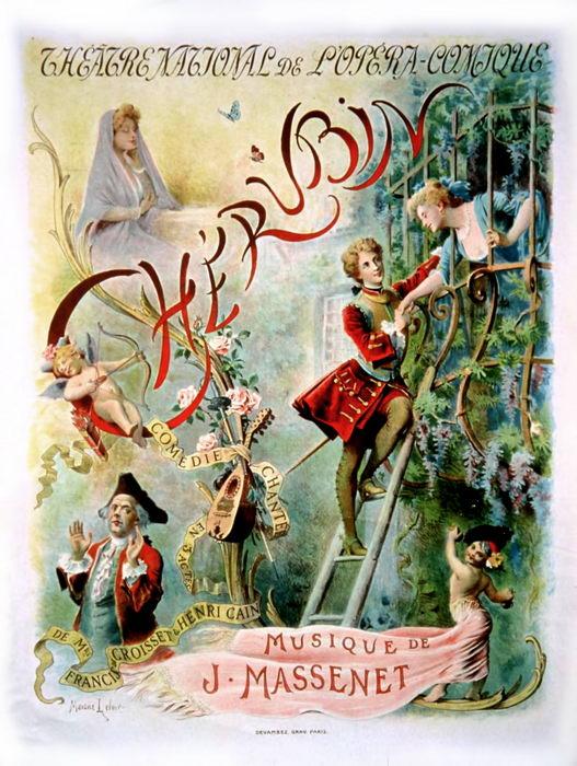 CHERUBIN par M. Leloir (1905)