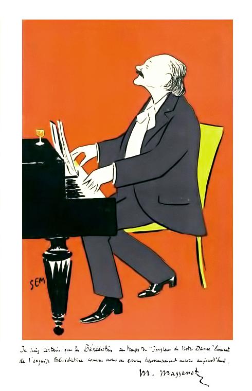 Jules Massenet par Sem