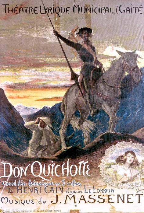 DON QUICHOTTE par G. Rochegrosse (1910)
