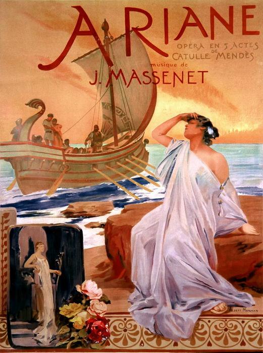 ARIANE par A. Maignan (1906)