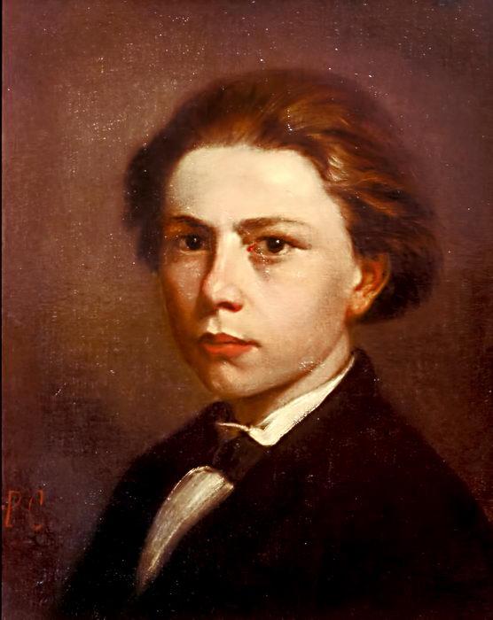 Massenet à 14 ans par son beau frère Paul Cavaillé