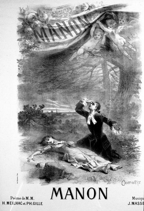 MANON par Chatinière (1884)