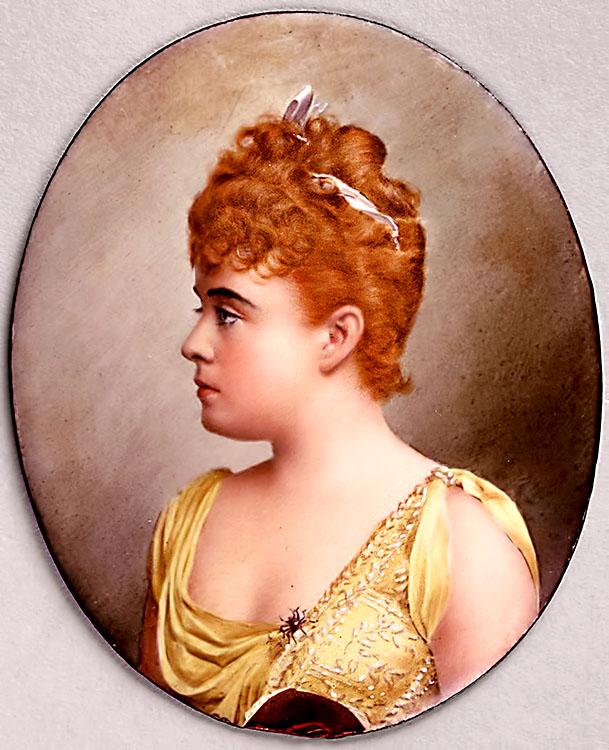 Sybil Sanderson, chanteuse créatrice d'ESCLARMONDE et de THAÏS