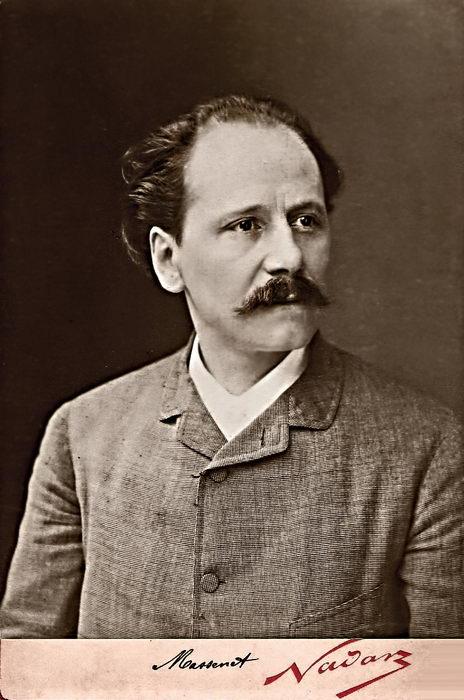 Massenet vers 1890 par Félix Nadar