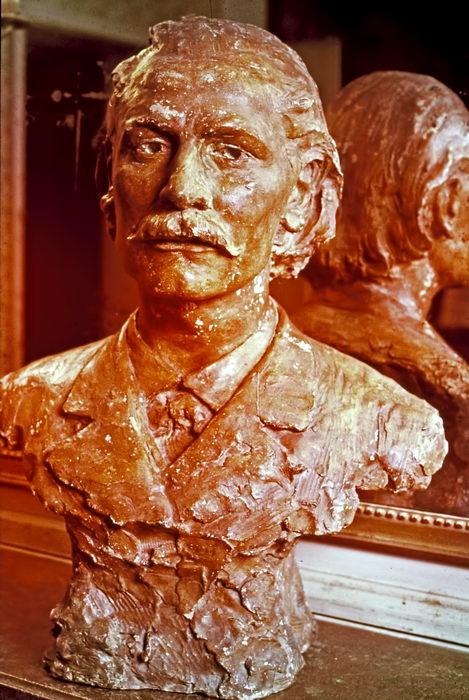 Buste de Massenet par Ringel D'iillsach (1884) musée de la Villette