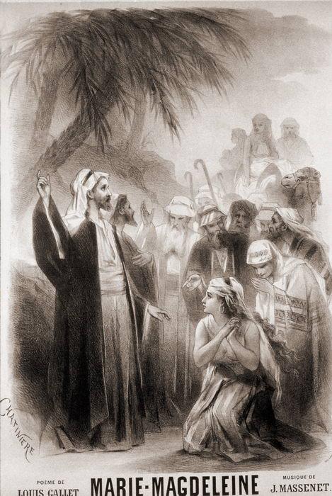 MARIE-MAGDELEINE par Chatinère (1873)