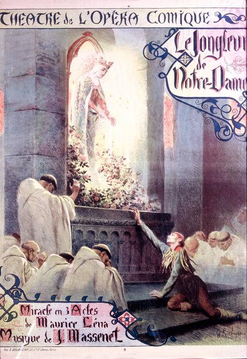 LE JONGLEUR de NOTRE-DAME par G. Rochegrosse (1902)