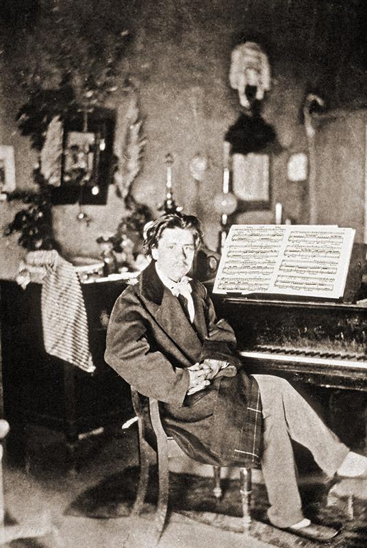 J. Massenet à la Villa Médicis (1864)