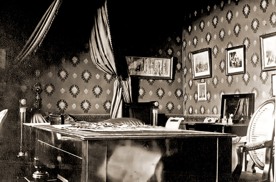 Chambre bureau de Jules Massenet