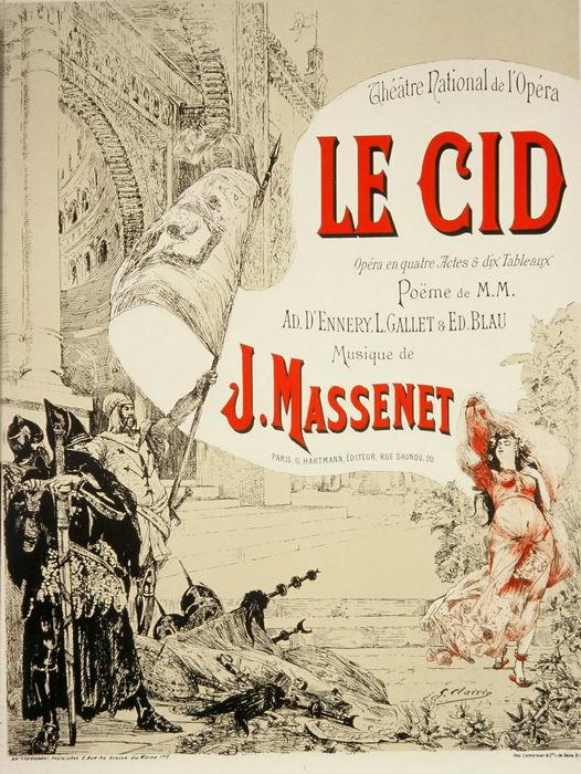LE CID par G. Clairin (1885)