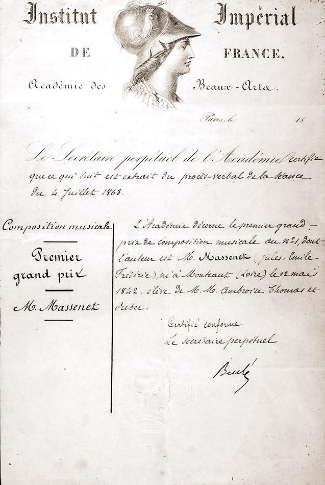 Grand prix de composition musicale (1868)