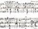 Partition de la mélodie écrite pour sa femme lors du siège de Paris (1870)
