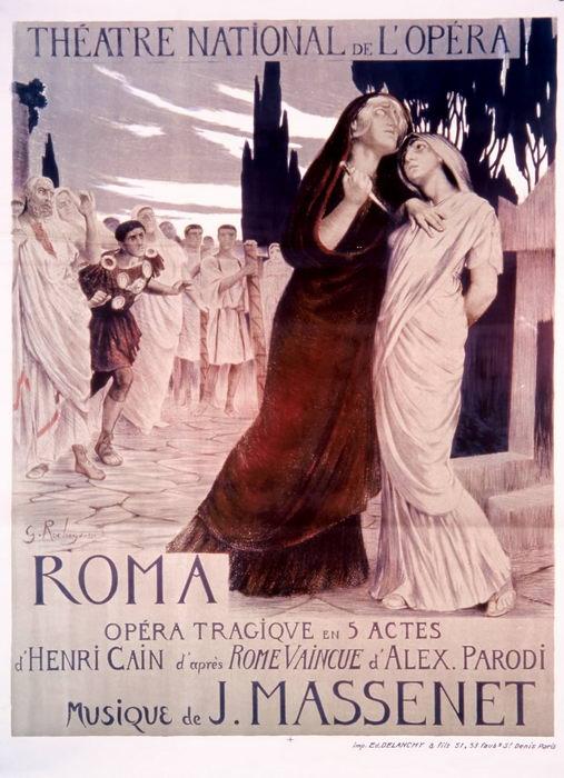ROMA par G. Rochegrosse (1912)