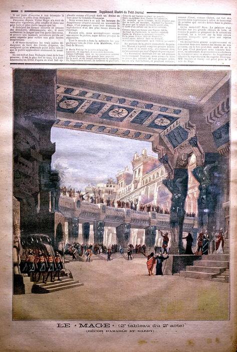 Frontispice du MAGE par A. Edel (1891)
