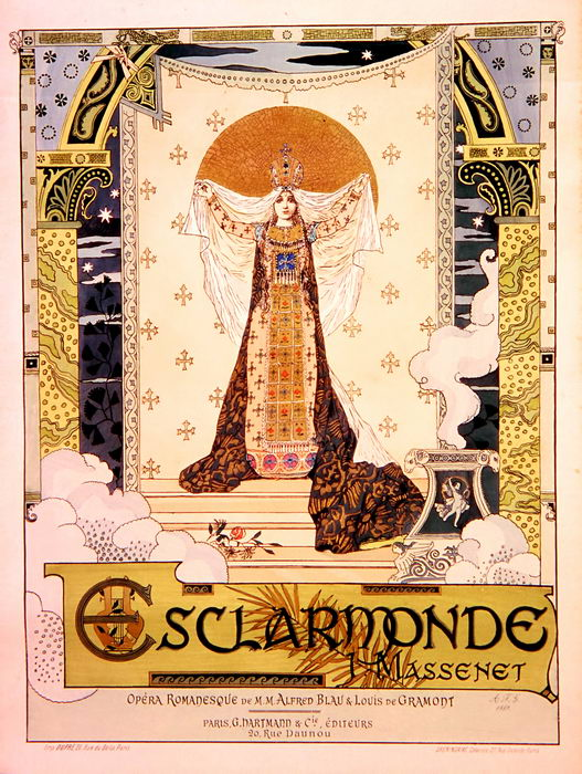 ESCLARMONDE par G. Clairin (1889)